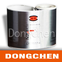 Silver Film Silkscreen Printing Rolling Daily Chemical Sticker