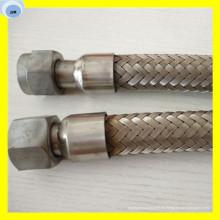 Manguera corrugada de la manguera flexible de metal Ss304