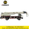 4x42 drive Dongfeng mobile crane truck /Lifting truck/ truck crane with 16T lifting capacity