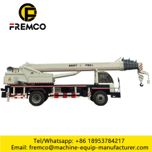 6 Ton Mini Mobile Tire Truck Cranes