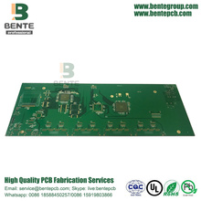 8-layers Multilayer PCB FR4 Tg175 ENIG 3U