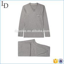 100% хлопок мужские пижамы комплект оптовая продажа OEM 2017 100% хлопок OEM оптовая продажа мужчины пижамы комплект хлопок пижамы 2017