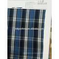 Hilado del mercado de Filipinas teñido de tela lisa de camisa de algodón a cuadros