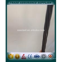 Materiales de construcción astm a416 grade 270 pc steel strand