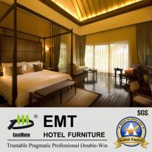 Star Hotel High Quality Wooden Bedroom Furniture (EMT-HTB08-10)