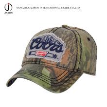 Gewaschene Baseballmütze Sportmütze Baumwollmütze Golfmütze Fashion Cap Camouflage Cap