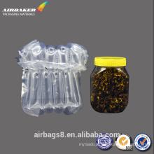 Quente vender almofada de ar durável folha recheio embalagem promocional