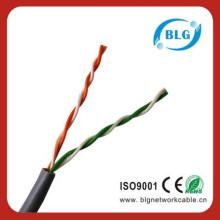 Spécification du câble téléphonique torsadé d'un câble de paire 0,5 mm de cuivre plein