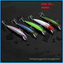 Wholesale Wh0004 Promotion High Quality Five Color Hard Lure Minnow