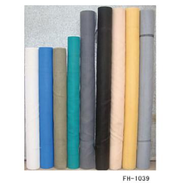 Variedad de pantallas de ventana de fibra de vidrio de color