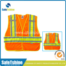 highlight orange jacket with special reflective tape