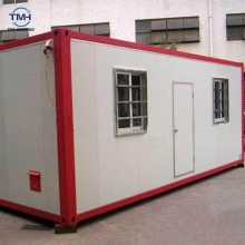 China expandable container house 40ft high cube container sandwich panel container cabin