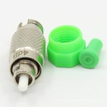 Atenuador de fibra óptica macho-hembra FC / APC