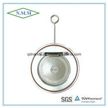 Ss316 Válvula de Retenção de Disco Único de Tipo Fino