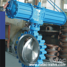 Full Lug Wafer Pneumatic Butterfly Valve