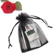 Custom Sheer Drawstring Gift Bags for Festival Wedding