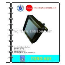 Gemelos plateados en metal plateado para requisitos particulares especiales