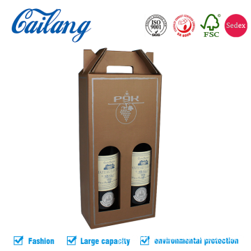 Carrier Wine Gift Box με λαβή