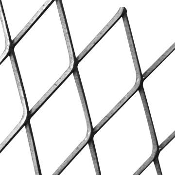 Malla metálica expandida galvanizada