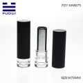 Empty black lipstick lip balm tube container wholesale