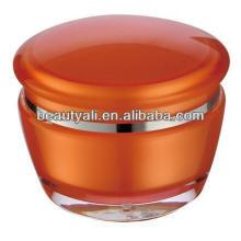 15ml 30ml frasco cosmético de creme acrílico de 50ml para a embalagem