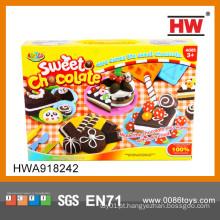 Engraçado handmade brinquedos educativos diy plasticine clay