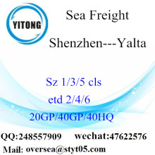 Shenzhen Port Sea Freight Shipping Para Yalta