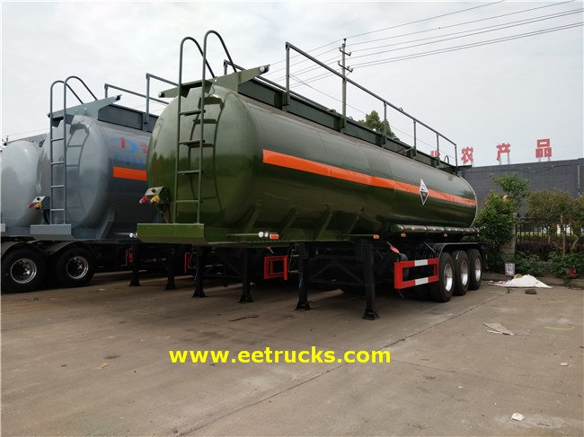 7000 Gallon Hydrochloric Acid Tanker Trailers