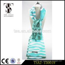 Lange bunte Verpackung hohe Kosten Leistung Malaysia beliebt liebt Tsyle Seide Schal
