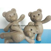 Mini animal figura miúdos infantis ursinho de pelúcia brinquedos de plástico