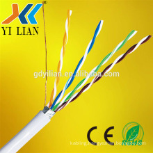 2017 factory price made in china 3feet 1m CCA 4 pair UTP FTP STP SFTP Cat5e copper clad aluminium cat6 cat6a Network Cable