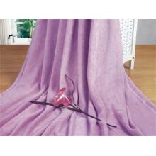 Cobertor de lã coral marrom, tecido