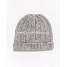 Wholesale classic 100% Cashmere Baggy Beanie Hat