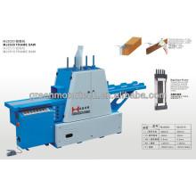 Máquina para trabajar la madera MJ2020 Frame Saw máquina de sierra de ahorro de material automática barata
