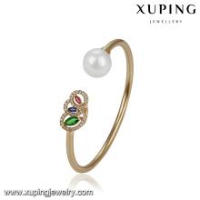 51771 xuping brazalete de perlas elegante al por mayor joyas de diseño especial
