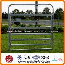 Panel oval de ganado estilo tubo