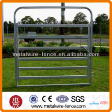 Oval tube style cattle panel