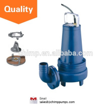 "CHIMP WQ(D)K SERIES 2"" outlet 1.5HP Normal Stand with Cutting Impeller Electric Submersible Sewage Pumps"