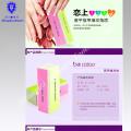 Bloc de polissage de tampon de polisseur de vernis à ongles de 4 manières