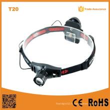150lumens Telescopique CREE Xr-E Q5 LED Lampe frontale (POPPAS-T20)