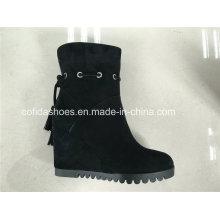 Sexy Tacones De Moda De Cuero Confort Lady Boots