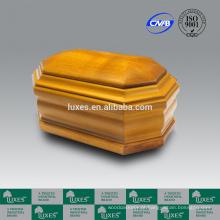 LUXES urna de madeira carvalho sólido UN20 Urns fúnebres