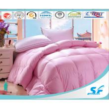 Luxury Baffle Box Pattern and White Duck Down Duvet Comforter