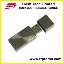 Другой стиль флэш-накопителя USB с металлическим блоком (D304)