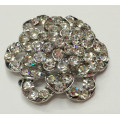 Vintage Flower Shapes Rhinestone Shoe Clips