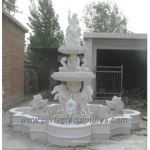 Outdoor Marble Water Pool Fountain for Garden Stone (SY-F345)