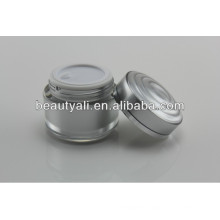 15ml 30ml 50ml Double Wall Plastic Acrylic Cosmetics Cream Empty Jar