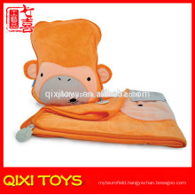 3-in-1 travel plush pillow travel pillow and blanket