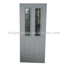 Hot sale Fangda 34-in decorative inswing steel framed interior door with glass