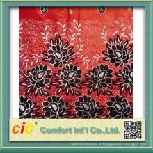 Tissu en tissu de foulard en polyester Scfz04610